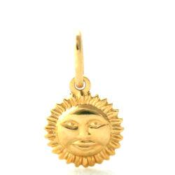 Soleil souriant – Pendentif