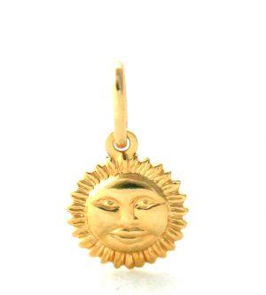 Soleil souriant - Pendentif