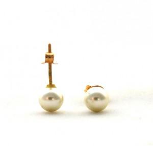 Puces perlées - Boucles d'oreilles