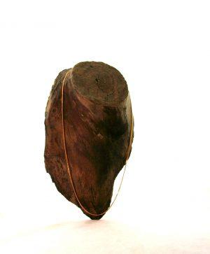 Chaîne plaqué or 50 cm – Mailles fines gourmette limée 1,5 mm