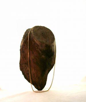 Chaîne plaqué or 55 cm – Mailles gourmette limée 2,5 mm