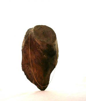 Chaîne plaqué or 50 cm – Mailles très fines forçat limée 1 mm