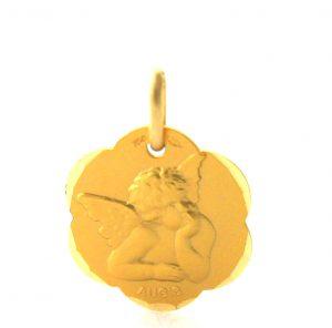 Ange Raphaël Augis - Médaille ronde en or 750/1000