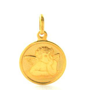 Ange Raphaël Argyor - Médaille Ronde en or 750/1000
