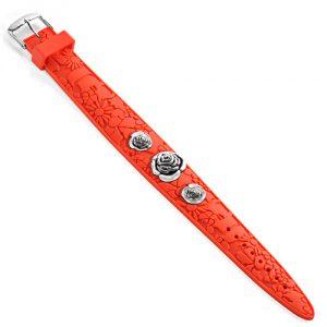 Bracelet femme caoutchouc orange – Miss Sixty