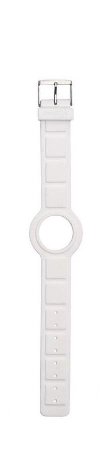 Themata - Bracelet blanc en silicone soft