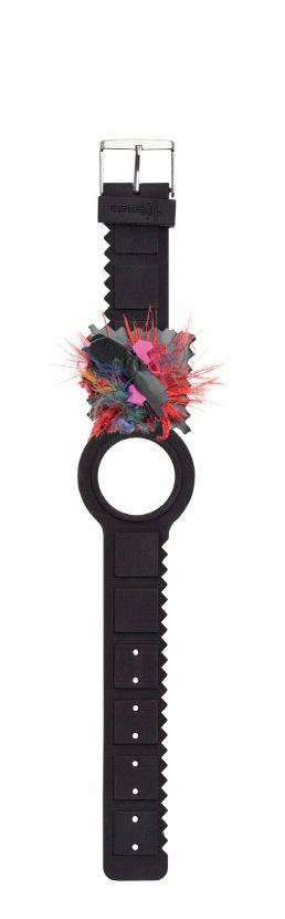 Themata - Bracelet noir série limitée en silicone soft