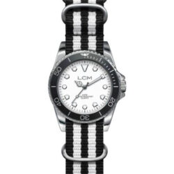 Lola Carra Montre homme collection Swing LCM bicolore