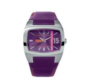 Montre Quinze homme violette - Serge Blanco