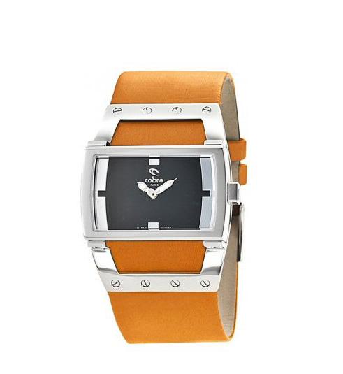 Montre mixte design orange – Cobra Paris