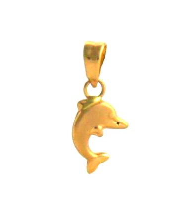 Pendentif dauphin – Or 750/1000