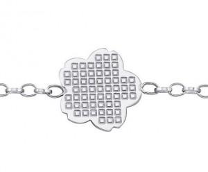 Bracelet Flora Kenzo argent 925/1000 Rhodié - 20 cm