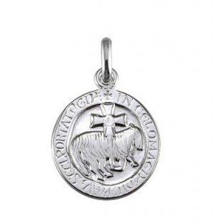 Médaille l'agneau de Cluny en argent 925/1000 - Arthus Bertrand