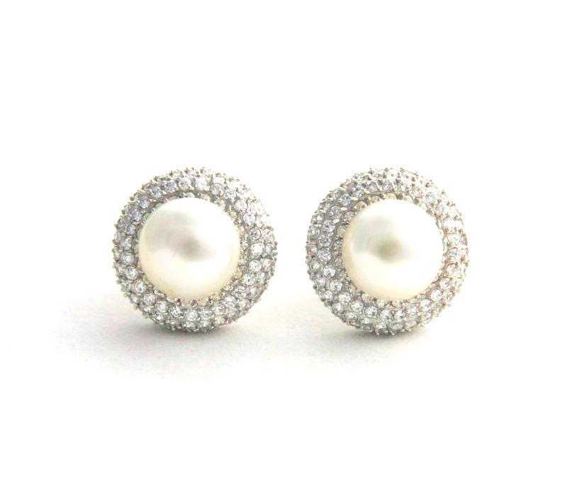 boucle oreille perle clip