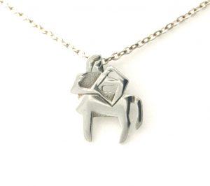 Collier pendentif Signe du Zodiaque Sagittaire en argent