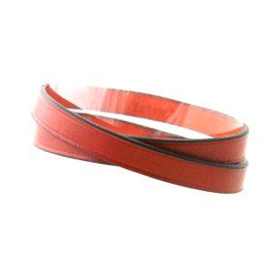 Bracelet en cuir marron 2 tours - Irène T