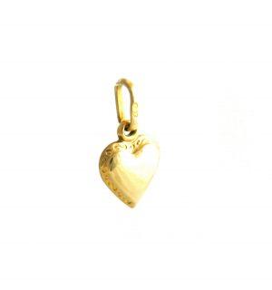 Pendentif coeur 7,3 mm Or 750/1000